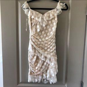 MAJORELLE Dresses - REVOLVE MAJORELLE polka dot white bandit dress